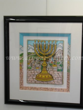 Charles Fazzino - A-Light-For-Israel.jpg